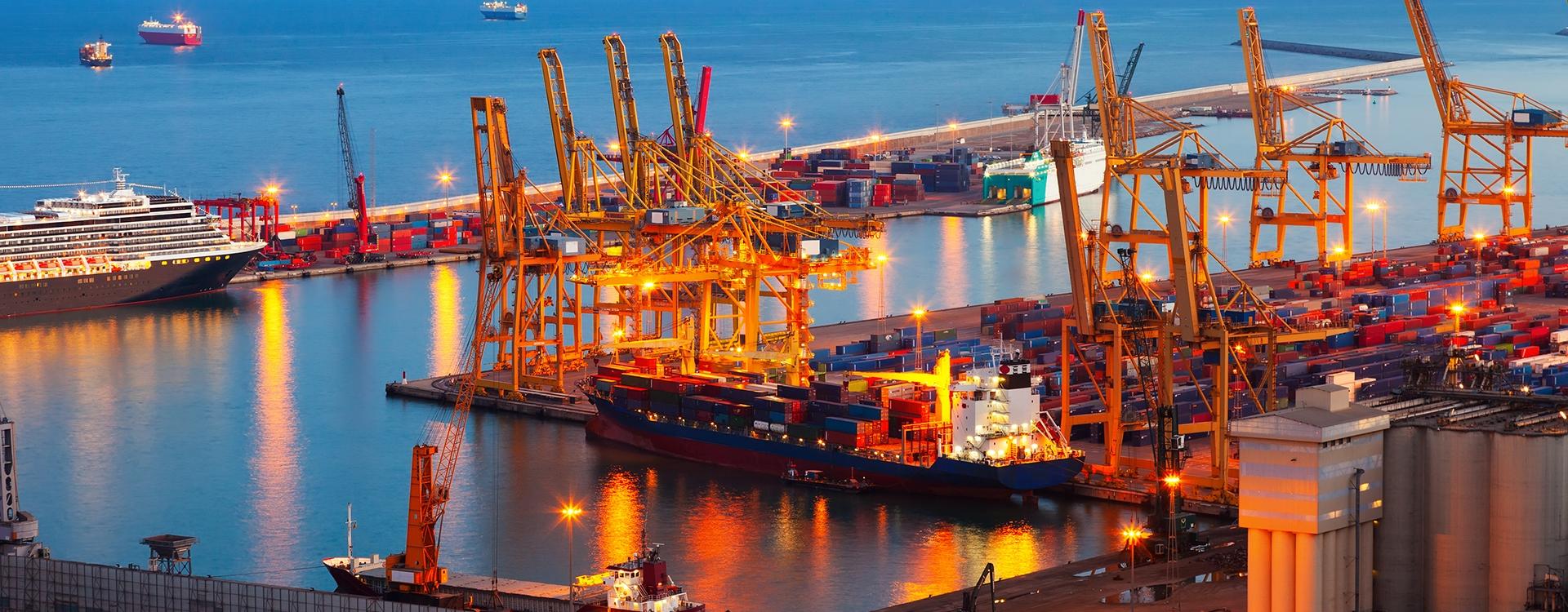 خدمات شرکت حمل و نقل بین المللی